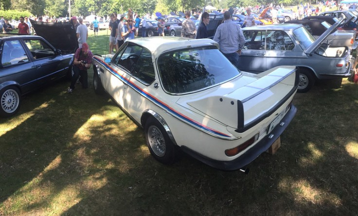 3.0CSL at Boston Chapter Concours