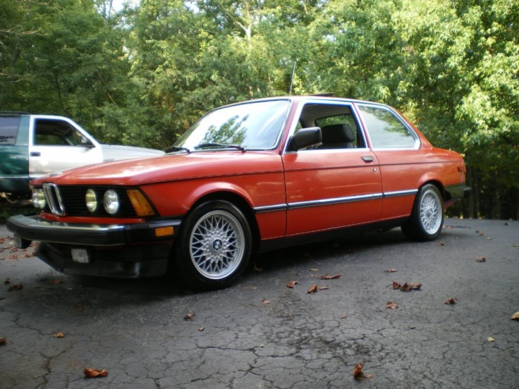 E21 with E30 BBS basketweaves